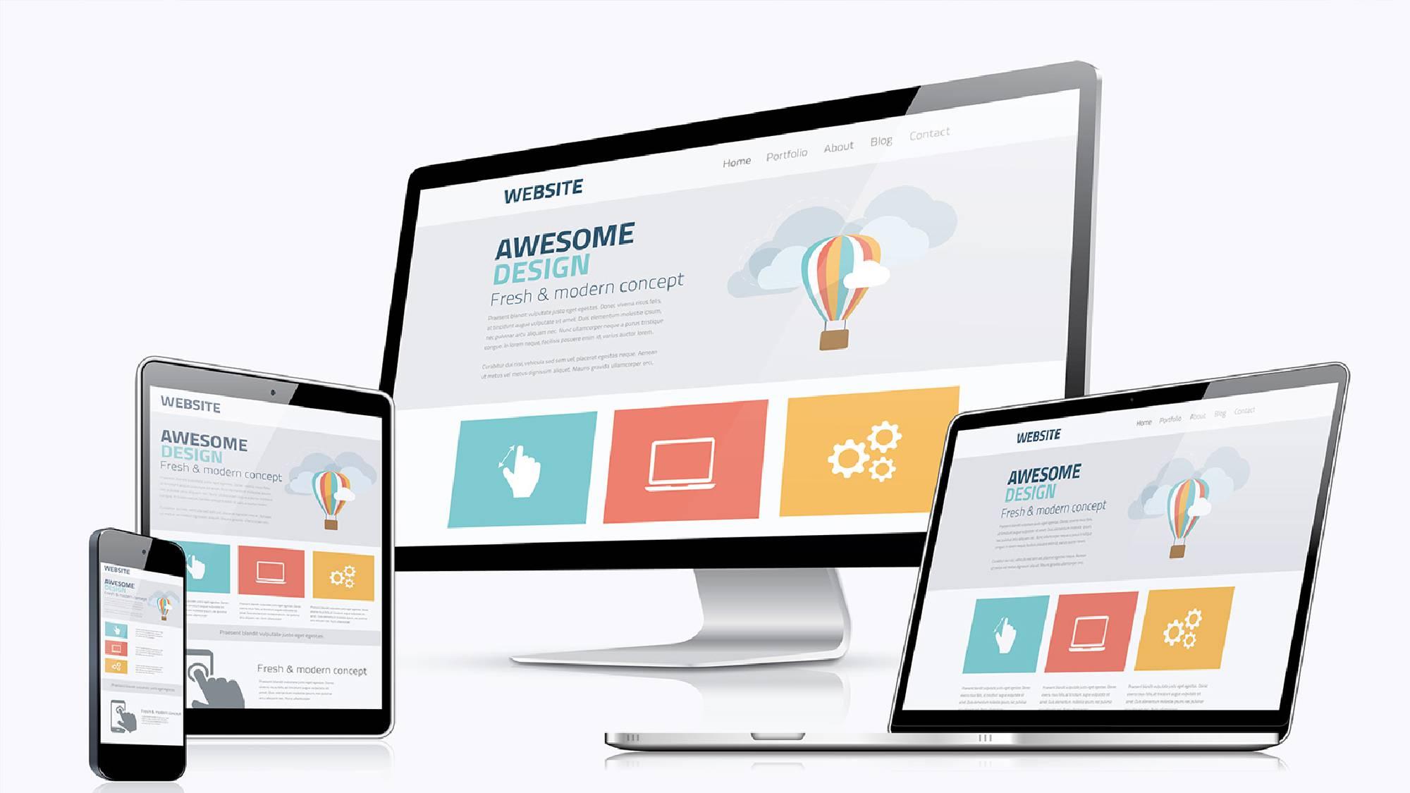 Адаптивный дизайн сайта как сделать